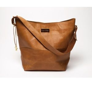 Handbags - Brynn Ashtyn camel hobo leather large